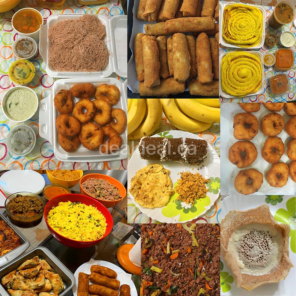 Homemade Sri Lankan Jaffna Style Food Catering Service