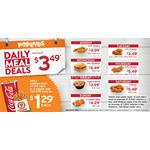 Daily Meal Deals at Popeyes Canada